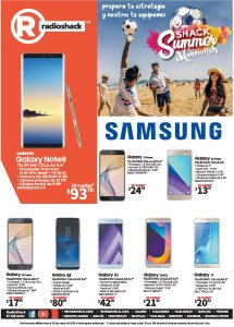 RadioSHACK summer 2018 geek and smartphone promotions