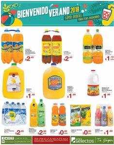 VARIEDAD de jugos artificiales para compartir en vacaciones