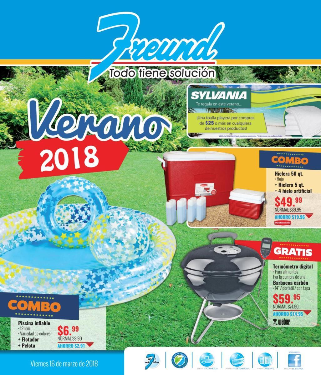 Cuadernillo Vacación Marzo 2018, Ferreterias FREUND