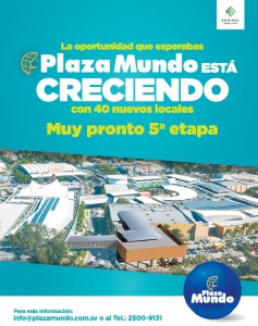 cento comercial Plaza Mundo quinta ETAPA