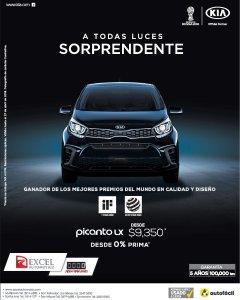 KIA Picanto LX 2018 economico compacto y sorprendente
