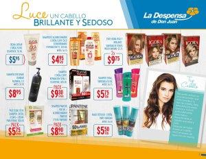 Promociones en tintes de cabello para ellas