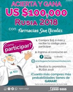 GANA 100K USD dollar con tus pronosticos RUSIA 2018