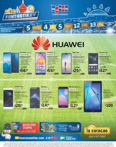 HUAWEI descuentos en celulares y tablets de la curacao