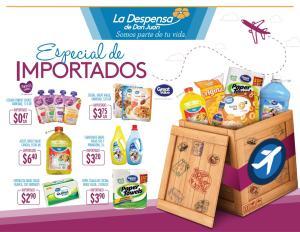 La Despensa de Don Juan ESPECIAL de productos importados MAYO 2018