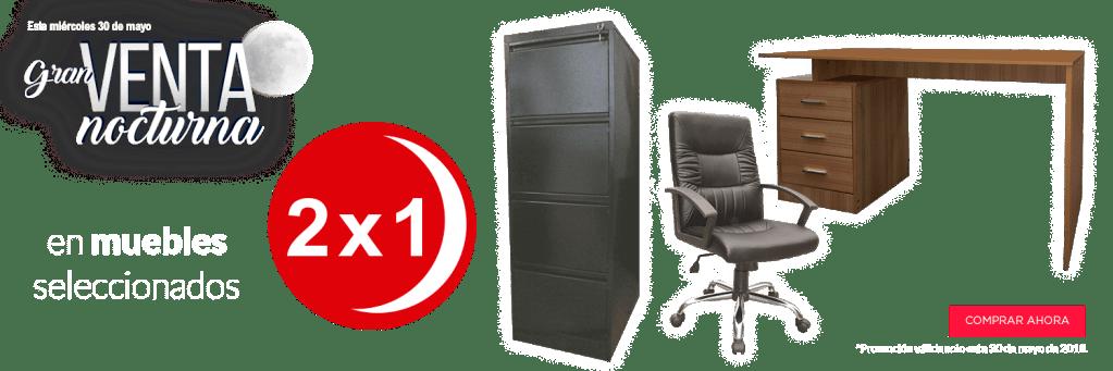 Muebles seleccionados con descuento en office depot