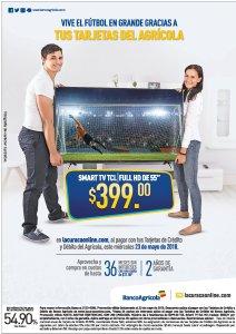 SMART TV TCL full HD de 55 pulgadas ideas para ver el mundial rusia 2018