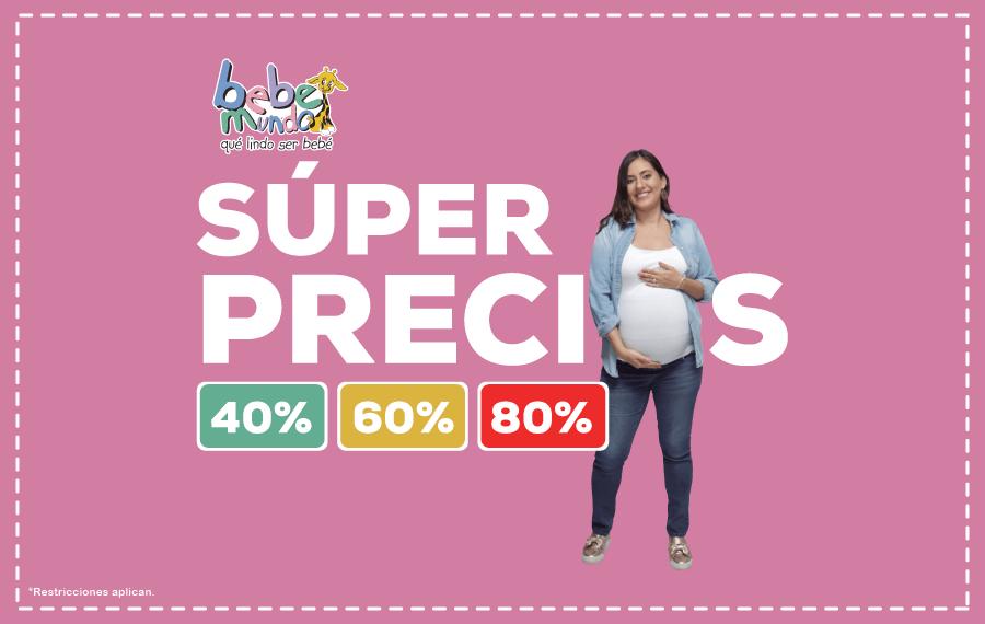 Super precios especiales para las futuras mamas 2018