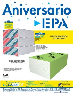 TABLAROCA en oferta en ferreteria epa - 07may18