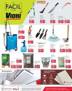 VIDRI tiene las herramientas para las jardineria