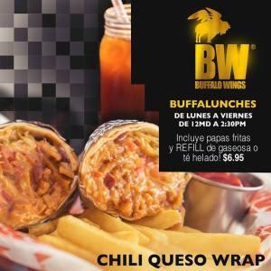 Buffalo Wings - CHILI QUESO WRAP - Lunch Rusia 2018