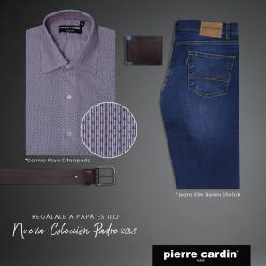 Camisa Raya Estampada y Jeans Denim Outfit perfecto
