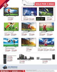 Fin de Semana para comprar TV nuevo en siman - 08jun18