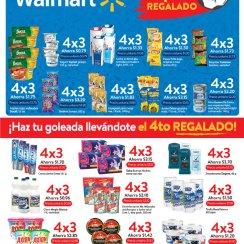 GOLEADA promocion de productos 4x3 walmart sv junio 2018
