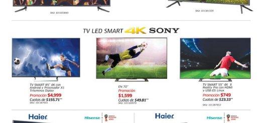 SIMAN PROMOCION de televisores y pantallas grandotas - 13jun18
