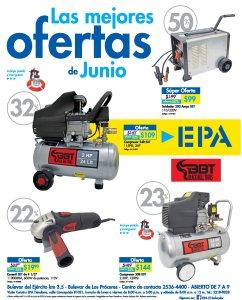 Super ofertas del mes de junio 2018 en ferreteria epa copresores