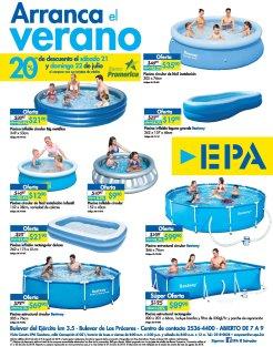 Descuentos en piscinas familiar ferreteria epa 21jul18