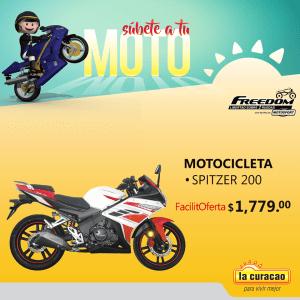 Freedom Motocicleta SPITZER ofertas la curacao
