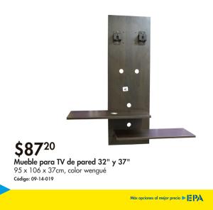 Muebles EPA - instalar televisores en la pared