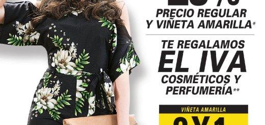 Dias de moda con descuentos y promociones PRISMA MODA - 31ago18