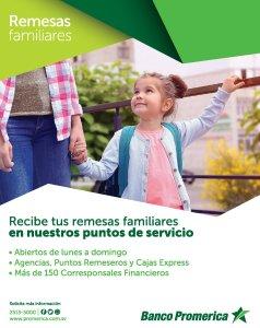 Enviar remesas familiar a el salvador banco promerica