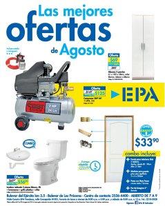 Estas son las ofertas de Agosto 2018 en Ferreteria EPA sv