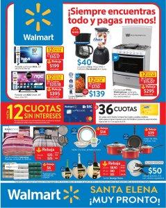 WALMART Todas tus compras de electrodomesticos con cuotas isn interes