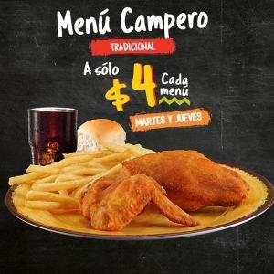 menu pollo campero tradicional menu campero