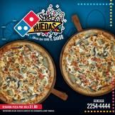 promociones dominos pizza agosto 2018