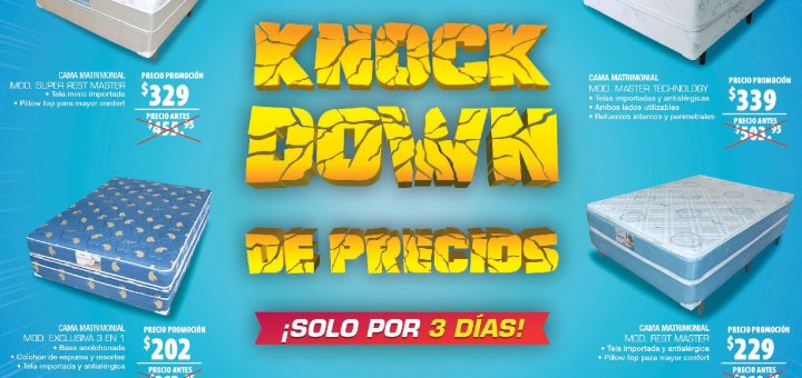 KNOCK Down prices for three days PRADO store