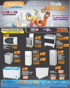 Almacenes Tropigas Black Friday 2018 electrodomesticos