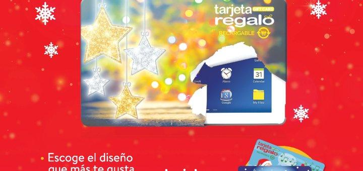Conoce las nuevas tarjetas de regalo cadena WALMART navidad 2018