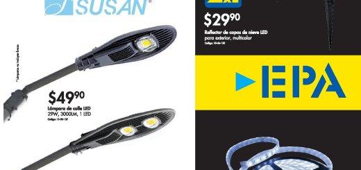 Ferreteria EPA Black Friday 2018 super ofertas LUNCES LED