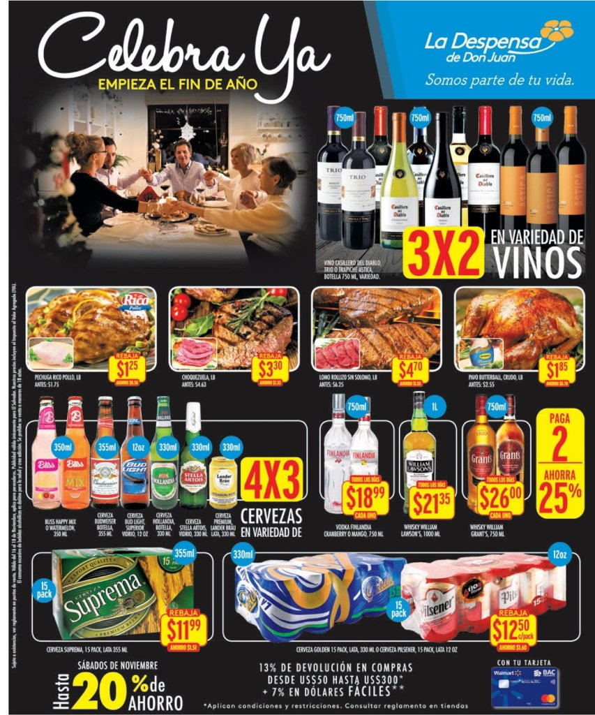 La Despensa de Don Juan ofertas blackfriday en bebidas 17nov18
