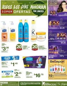 MAs productos de belleza en super selectos sv