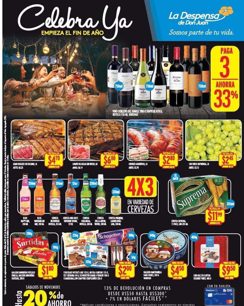 Promociones blackfriday LA Despensa de Don Juan - 23nov18