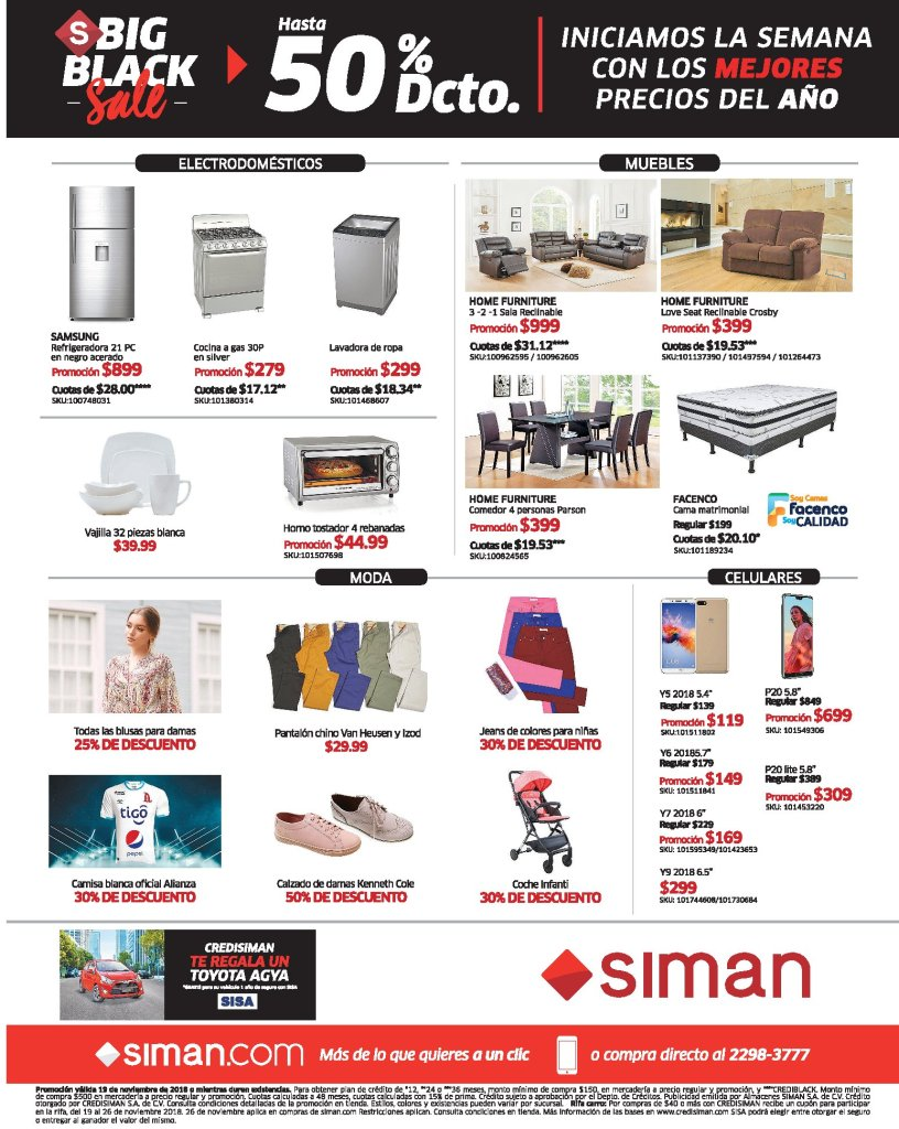 Siman BlackFriday week ofertas