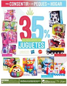 Super Selectos descuentos JUGUETES 35 off Black Weekend 2018