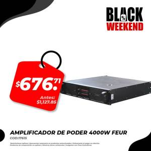amplificador de poder black friday electronica japonesa