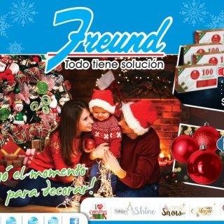 catalogo freund adornos de navidad 2018