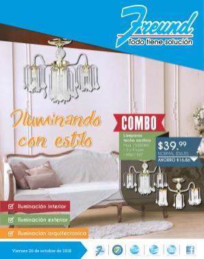 freund catalogo de iluminacion decoracion noviembre 2018