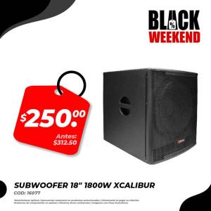 subwoofer black friday electronica japonesa