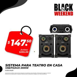 teatro en casa black friday electronica japonesa