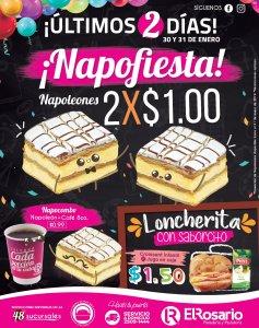 NAPO Fiesta en EL ROSARIO pan dulce