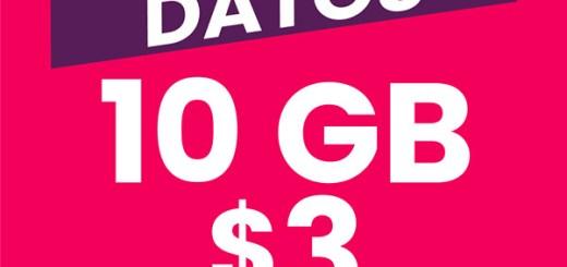 DIGICEL PROMOCION 10 GB de internet 4g LTE