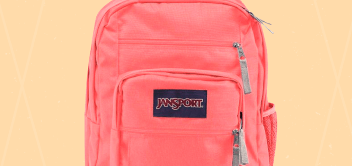 Mochila-jansport-coral-sparkle-MIKE-MIKE