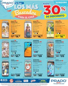 PRADO ofertas en celulares para ir al colegio