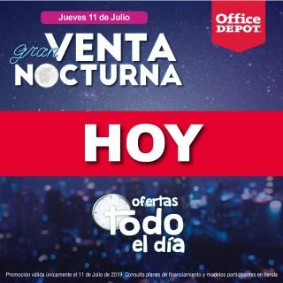 catalogo de ofertas office depot venta nocturna 2019