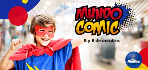 Disfruta del mundo comic 2019 en plaza mundo el salvador