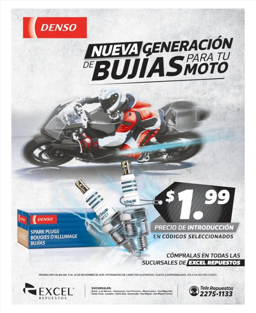 DENSO technology bujias para motos